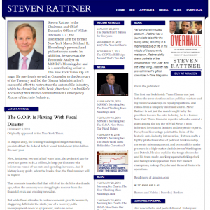 Official Website of Steve Rattner