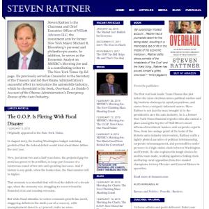Official Website of Steve Rattner
